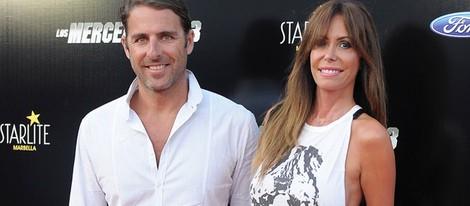 Lara Dibildos y Joaquín Capel en el estreno de 'Los Mercenarios 3' en Marbella