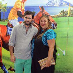 Caritina Goyanes y Antonio Matos en la inuguración de Trocadero en Sotogrande