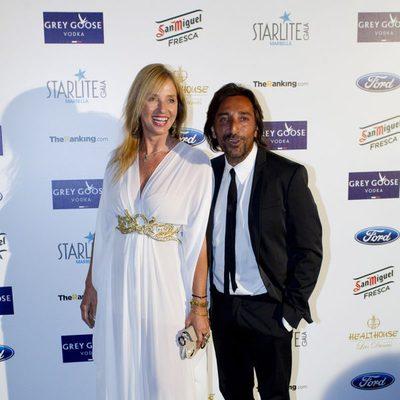 Antonio Carmona y Mariola Orellana en la Starlite Gala 2014