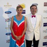 Ágatha Ruiz de la Prada y Pedro J. Ramírez en la Starlite Gala 2014