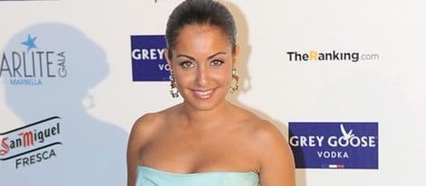 Hiba Abouk en la Starlite Gala 2014
