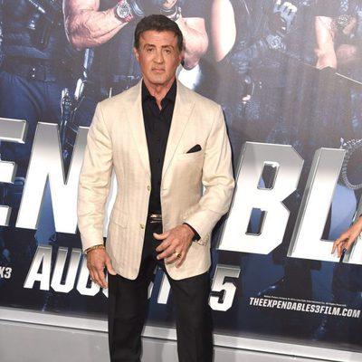 Sylvester Stallone en el estreno de 'Los mercenarios 3' en Los Angeles