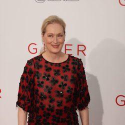 Meryl Streep en el estreno de 'The Giver'