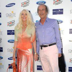 Gunilla von Bismarck y Luis Ortiz en el concierto de Julio Iglesias en Marbella