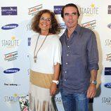 Ana Botella y José María Aznar en el concierto de Julio Iglesias en Marbella