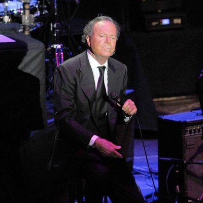 Julio Iglesias en su concierto en Marbella