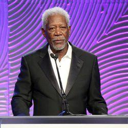 Morgan Freeman en el Banquete de Caridad de la HFPA