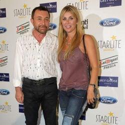 José Manuel Parada y Malena Gracia en el concierto de Dani Martín en el Starlite Festival de Marbella