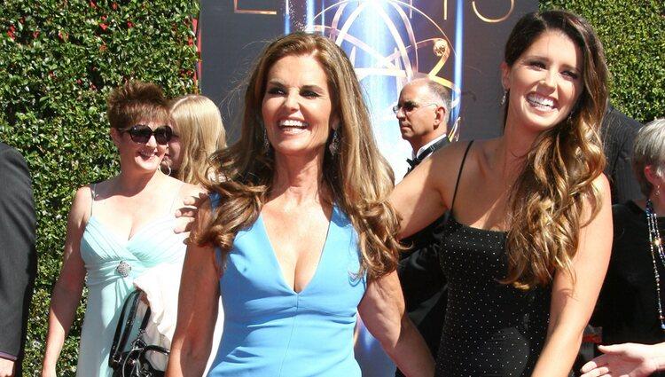 Katherine Schwarzenegger y Maria Shriver en los Premios Emmy a las Artes Creativas 2014