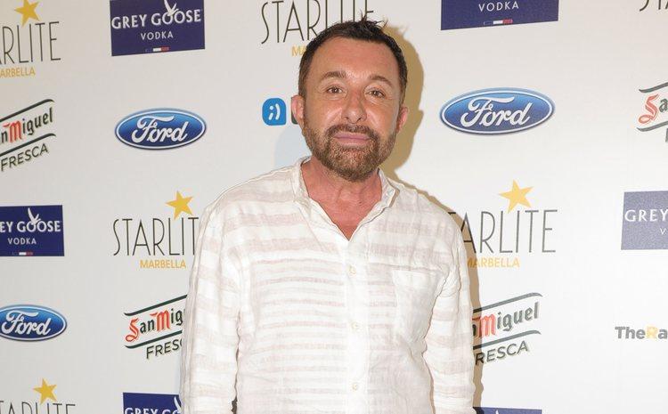 Jose Manuel Parada en el concierto de Rosario Flores en el Starlite Festival 2014