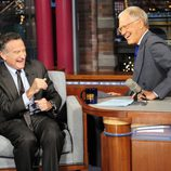 Robin Williams en el programa de David Letterman