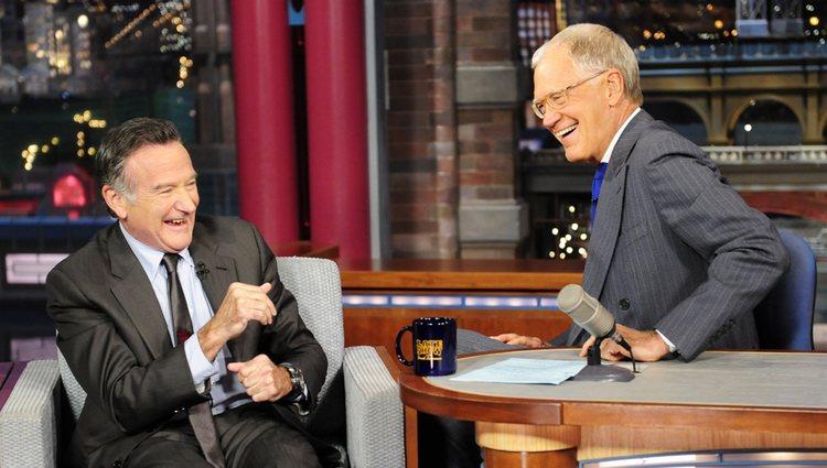 Robin Williams en el programa de David Letterman