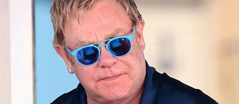 Elton John en Saint-Tropez
