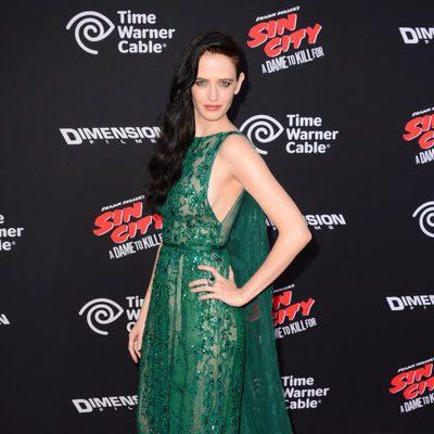 Eva Green en el estreno de 'Sin City: Una dama por la que matar' en Los Angeles