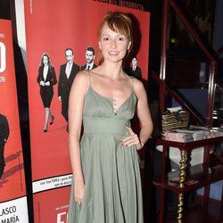 Cristina Castaño en el estreno de 'Feelgood' en Madrid