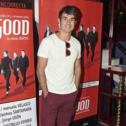 Daniel Muriel en el estreno de 'Feelgood' en Madrid