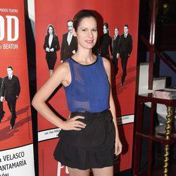 Lidia San José en el estreno de 'Feelgood' en Madrid