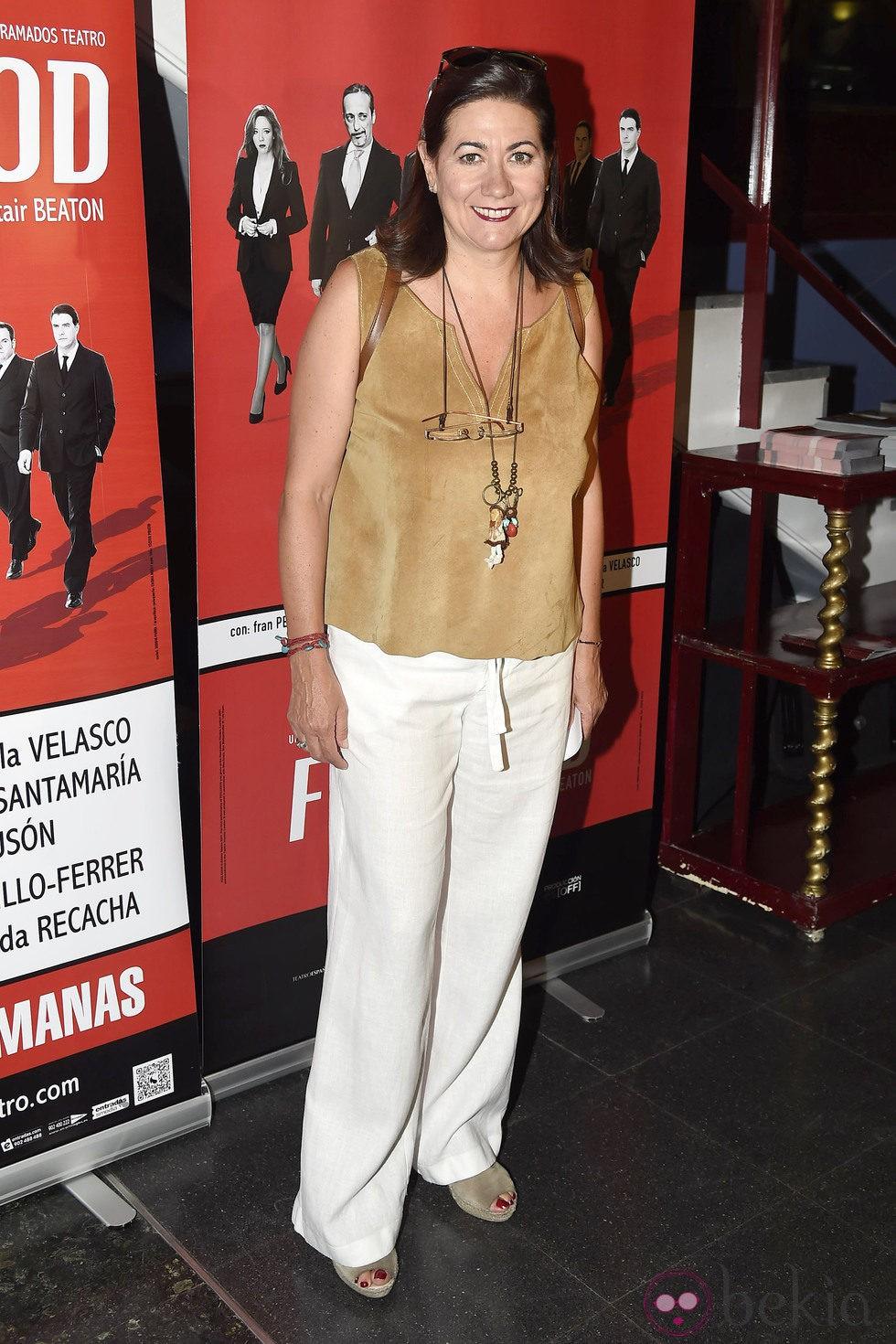 Luisa Martín en el estreno de 'Feelgood' en Madrid