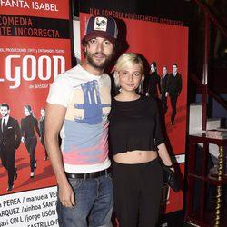 Miriam Giovanelli en el estreno de 'Feelgood' en Madrid