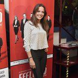 Cristina Alarcón en el estreno de 'Feelgood' en Madrid