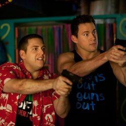 Channing Tatum y Jonah Hill en 'Infiltrados en la universidad'