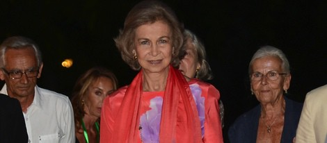 La Reina Sofía en un recital solidario de Mallorca