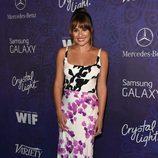 Lea Michele en una fiesta previa a la entrega de los Premios Emmy 2014