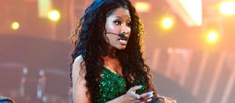 Nicki Minaj actuando en los MTV Video Music Awards 2014