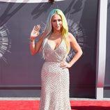 Kesha en la alfombra roja de los MTV Video Music Awards 2014