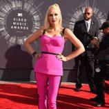 Gwen Stefani en la alfombra roja de los MTV Video Music Awards 2014