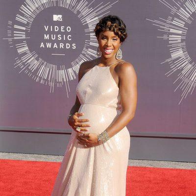 Kelly Rowland en la alfombra roja de los MTV Video Music Awards 2014