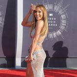 Jennifer Lopez en la alfombra roja de los MTV Video Music Awards 2014