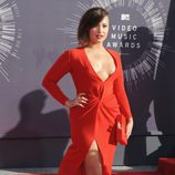 Demi Lovato en la alfombra roja de los MTV Video Music Awards 2014