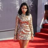 Nicki Minaj en la alfombra roja de los MTV Video Music Awards 2014