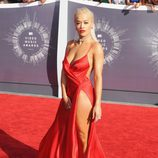 Rita Ora en la alfombra roja de los MTV Video Music Awards 2014