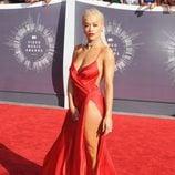 Rita Ora en la alfombra roja de los MTV Video Music Awards 2014