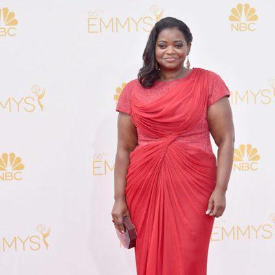 Octavia Spencer en la red carpet de los Emmys 2014