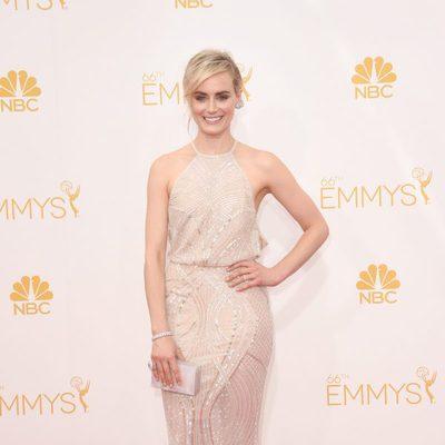 Taylor Schilling en la alfombra roja de los Emmy 2014