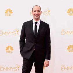 Tony Hale en la alfombra roja de los Emmy 2014