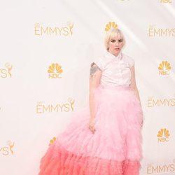 El vestido de Lena Dunham en la alfombra roja de los Emmy 2014