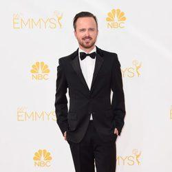 Aaron Paul en la alfombra roja de los Emmy 2014