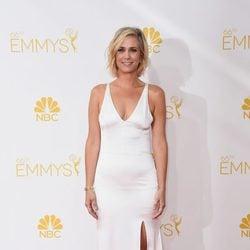 Kristen Wiig en la red carpet de los Emmys 2014