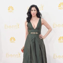 Sarah Silverman en la red carpet de los Emmys 2014