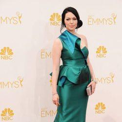 Laura Prepon en los Emmys 2014