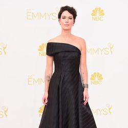Lena Headey en la alfombra roja de los Premios Emmy 2014