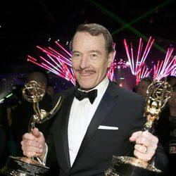 Bryan Cranston en la Fiesta del Gobernador tras los Emmy 2014