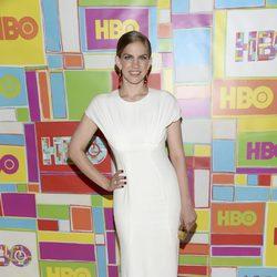 Anna Chlumsky en la fiesta de HBO tras los Emmy 2014