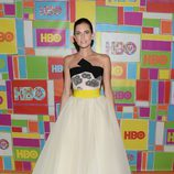 Allison Williams en la fiesta de HBO tras los Emmy 2014