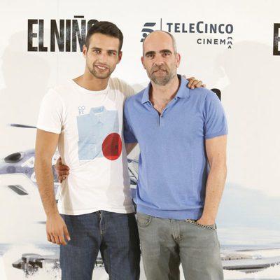 Jesús Castro y Luis Tosar en la presentación de 'El Niño'