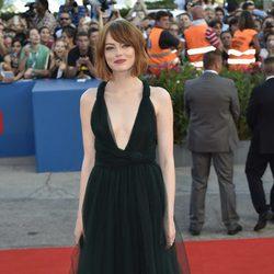 Emma Stone en la ceremonia de apertura del Festival de Venecia 2014